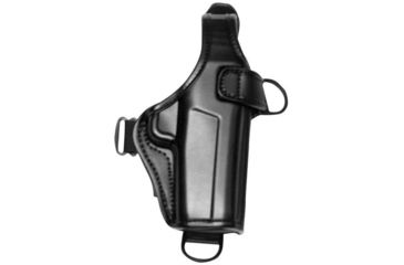 Bianchi 7700H LeatherLite Holster (for 7700 shoulder rig) - Black, Right Hand 19862