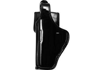 Bianchi 7920 Defender II Duty Holster, Hi-Gloss, Left Hand - S&W 411 & Similar - 22341