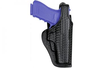 Bianchi 7920 Defender II Duty Holster - Hi-Gloss, Left Hand 23369