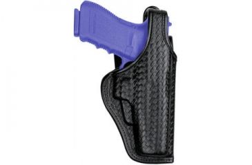 Bianchi 7920 Defender II Duty Holster - Plain Black, Right Hand 22022