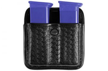 Bianchi 7922 Triple Threat II Magazine Pouch - Basket Black 22265