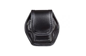 Bianchi 7935 EDW Plain Black Single Pouch w/ Hidden Snap for Taser X26 Cartridge