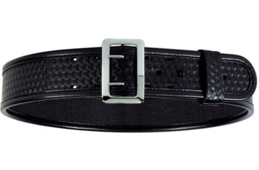 Bianchi 7960 AccuMold Elite Sam Browne Belt - Basket Black, Chrome 22211
