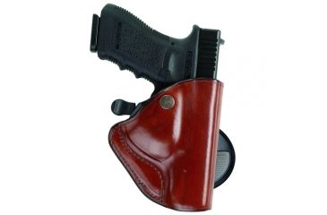 Bianchi 83 PaddleLok Holster - Plain Tan, Left Hand 23213