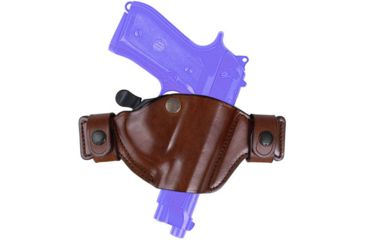 Bianchi 84 SnapLok Holster - Plain Black, Right Hand 23258
