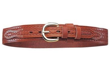 2-Bianchi B4 Ranger Belt - Basket Tan, Brass Buckle