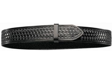 Bianchi B8V Garrison Belt with Hook and Loop - Basket Black, 17003