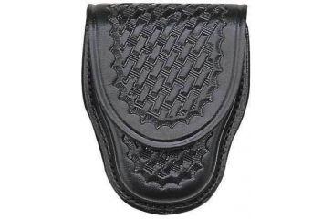 Bianchi 35P Covered Cuff Case - Plain Black, Chrome 13752