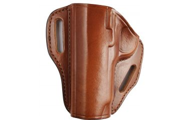 Bianchi P.I. Open-Top Holster for Gov't 1911, Comdr, Officers' ACP - Tan, Left Hand - 24993