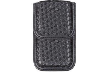Bianchi 7937 Smartphome Case, Basketweave Black w/ Velcro 25170