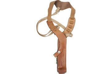 Bianchi X15 Shoulder Holster - Plain Tan, Right Hand 12356