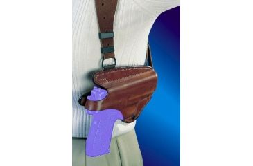 Bianchi X16L Agent X Shoulder Rig (Lined) Holster - Plain Tan, Right Hand 17272