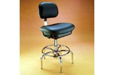 Bio Fit Cleanroom/ESD Chairs, 1P Series, BioFit 1P62-C10-K Class 10 Cleanroom/ESD Chairs