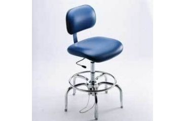 Bio Fit Cleanroom/ESD Chairs, 4P Series, BioFit 4P57-C1-CRC Class 1 Cleanroom Chairs