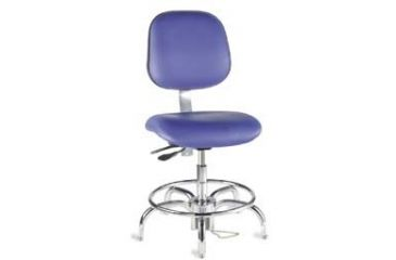 Bio Fit Cleanroom/ESD Chairs, 4V Series, BioFit 4V62-1000 Class 1000 Cleanroom Chairs (Ship Now! Models)