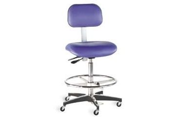 Bio Fit Cleanroom/ESD Chairs, 4W Series, BioFit 4W64-C1 Class 1 Cleanroom Chairs