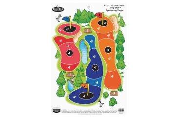 Birchwood Casey Dirty Bird Chip Shot Targets 12x18 Inch 8 Per Package
