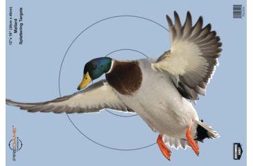 1-Birchwood Casey Dirty Bird PreGame Animal Targets Duck 12x18 Inch 8 Per Package 35407