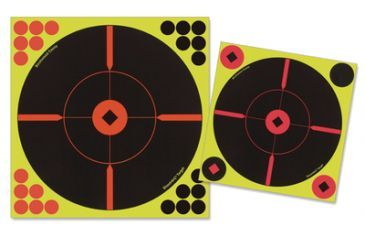 Birchwood Casey Shoot-N-C 8 Inch Round X-Targets 50 Per Package Plus 200 Pasters 34850