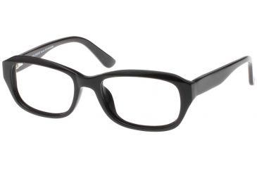 Black Forever Bk585 585 Bifocal Shiny Black Frames