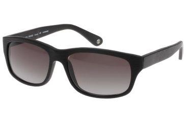 Black Forever Sunglasses 620 - Mat Wood Black Frames-Grey Gradient Lenses