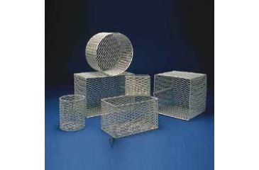 Black Machine Baskets, Epoxy-Coated Aluminum E101/H Rectangular