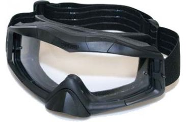 BlackHawk A.C.E. Tactical Goggles, Black w/Clear Lens 85AC00BK