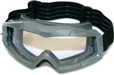 BlackHawk A.C.E. Tactical Goggles, Foliage Green w/Clear Lens 85AC00FG
