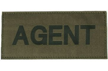 Blackhawk! Agent Patch, Black on Green