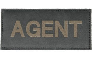 Blackhawk! Green on Black 90IN01 Agent Patch