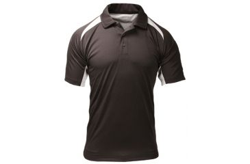 BlackHawk Short Sleeve Athletic Shirt, Black - Front View