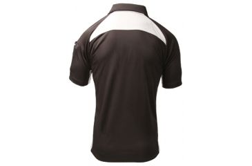BlackHawk Short Sleeve Athletic Shirt, Black - Back View