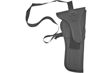 BlackHawk Bandolier Scoped Handgun Holster, Small, Ambidextrous, Black, 74BH03BK