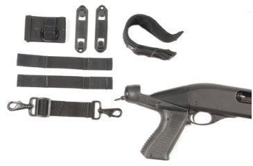 BlackHawk BHP Knoxx Shotgun Breacher's Stock And Accessory Kit Black Mossberg 12 Gauge Models 500/590/835/88
