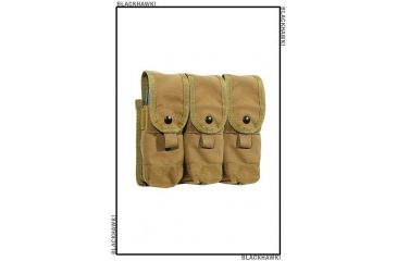 BlackHawk Coupled Mag Pouch Triple Coyote Tan 38CL103CT-GSA