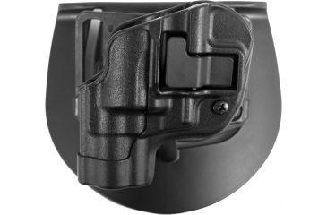 BlackHawk CQC CF Holster  Serpa LT Matte Finish Black S&W Jframe revolver