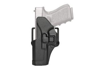 BlackHawk CQC SERPA Beltloop/Paddle Holster, Left Hand, Matte Black - Colt 1911 - 410503BK-L