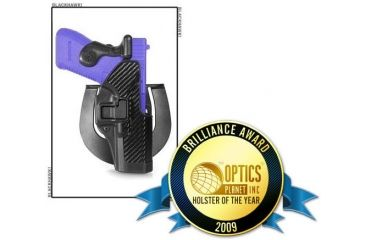 BlackHawk CQC SERPA Holster - Active Retention - Carbon Fiber Finish - 2009 Brilliance Awards Customer Choice Winner: Holster of the Year