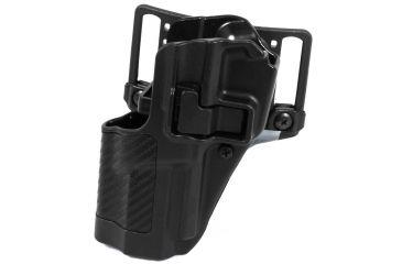 Blackhawk Serpa CQC Belt Loop/Paddle Holste, Carbon Fiber Finish, Left Hand, Walther P99