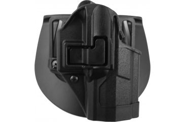 BlackHawk CQC SERPA Holster, Beltloop, Paddle, Right  Black, 410524BKR