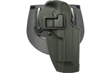 BlackHawk CQC SERPA Holster, Beltloop, Paddle, Right, Olive Drab 410504ODR