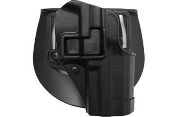 BlackHawk CQC SERPA Holster w/ Beltloop & Paddle, Right Hand, Black, H&K USP Full Size
