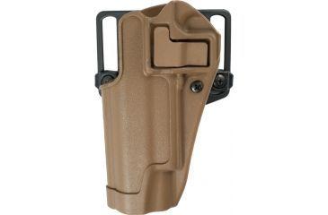 BlackHawk CQC SERPA Holster Left Hand Coyote Tan Colt 1911 410503CT-L
