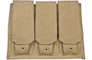 BlackHawk Discreet MOLLE Triple M16/M4 Mag Pouch,Coyote Tan 65MV01CT