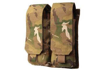 BlackHawk MOLLE System AK47 Double Mag Pouch - MultiCam