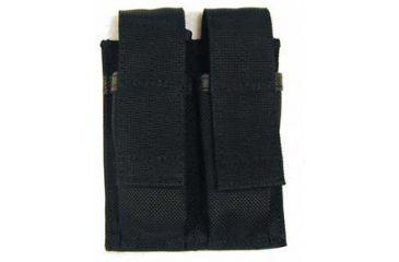 BlackHawk Duty H/V Dbl Pistol Mag Pouch Black 51PM01BK