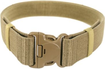 BlackHawk Enhanced Military Web Belt, Coyote Tan - Waists up to 43in