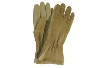 Blackhawk HellStorm AVIATOR Nomex Flight Gloves, Medium, Coyote Tan