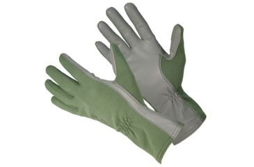 Blackhawk HellStorm AVIATOR Nomex Flight Gloves, Large, Olive Drab