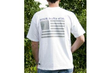 BlackHawk HONOR T-Shirt (Grey Flag)